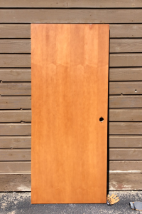 002 White Maple Door