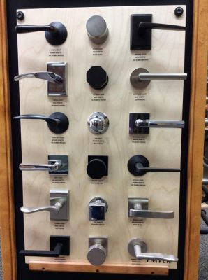 Interior Knobs, Levers and Entry Handles